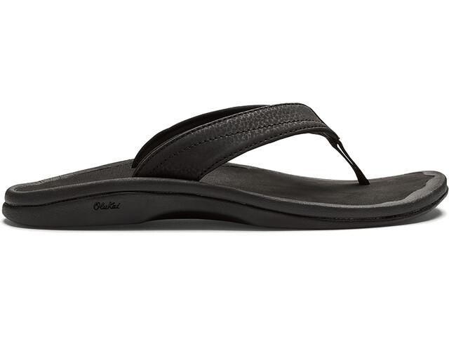 OluKai Ohana Sandals Dame black / black